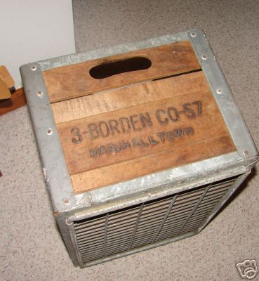 Vintage Wooden crate on eBay