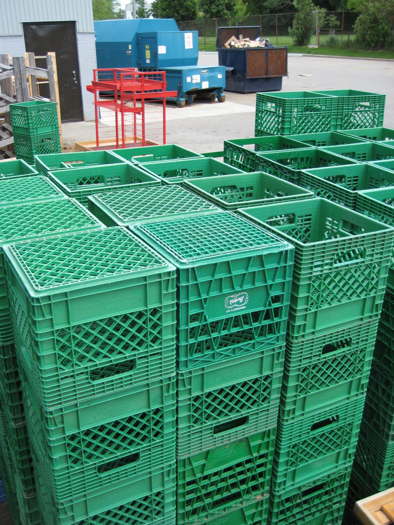 Milkcrate Digest 187 Green