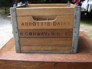 Milkcrate Digest Vintage Wooden Crate For Sale In Nh